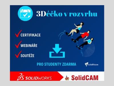 3Déčko v rozvrhu - webináře pro studenty a učitele