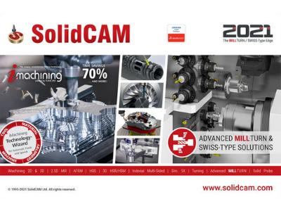 SolidCAM 2021 - série webinářů