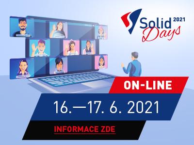 Registrace na SolidDays 2021
