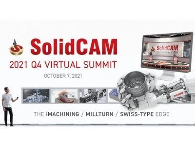 SolidCAM Virtual Summit 7.10. 2021